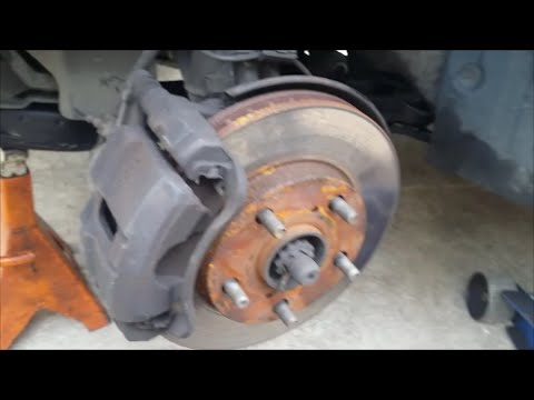 1999 Toyota Camry Replacing Front Brakes
