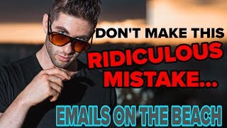 [JC Live Breakdown] 3 RIDICULOUS Email Marketing Mistakes (please stop doing this, thx)