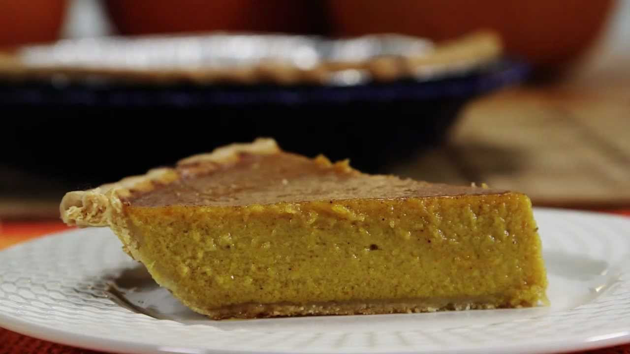 How To Make Fresh Pumpkin Pie Allrecipes Com Youtube