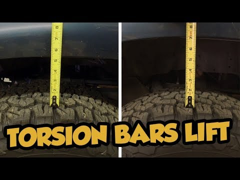 Lift or Lower your Toyota Pickup or 4Runner by adjusting the Torsion Bars