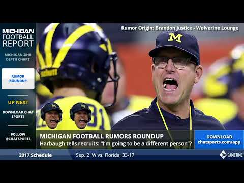 Michigan Football Rumors: Jim Harbaugh, Shea Patterson News, and Transfer Updates w/ James Yoder