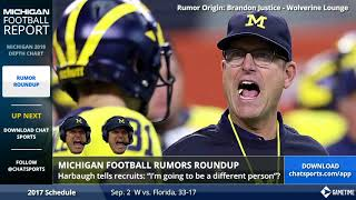 Michigan Football Rumors: Jim Harbaugh, Shea Patterson News, and Transfer Updates w/ James Yoder
