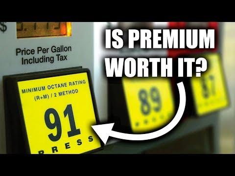 New Study Shows Premium Gas Isn't Always Worth It