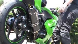 kawasaki ninja 250R yoshimura exhaust