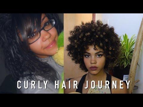 CURLY HAIR JOURNEY | harmonicurls