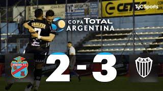 Copa Argentina: Arsenal 2-3 Estudiantes (BA)