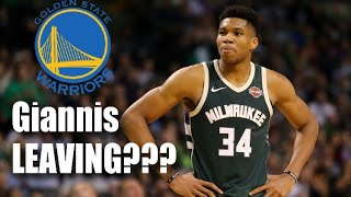 Is giannis leaving the bucks for golden state in 2021?