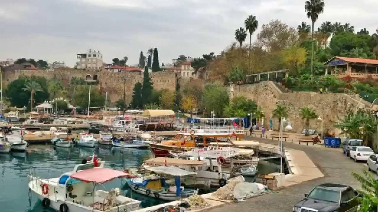 ANTALYA, KALEICI OLD TOWN , TURKEY 2014 - YouTube