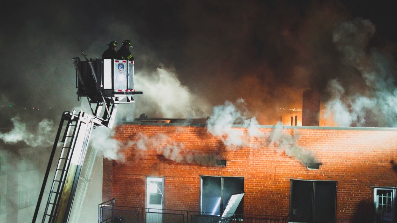 Fdny Battles 5 Alarm Fire In Elmhurst Queens