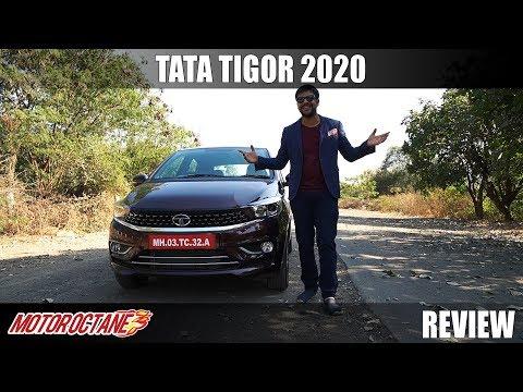 2020 Tata Tigor BS6 Review - Style and Elegance | MotorOctane