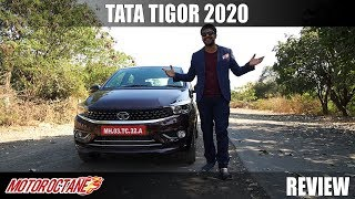 2020 Tata Tigor BS6 Review - Style and Elegance | MotorOctane