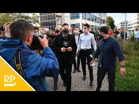 Tesla-Chef Musk besucht deutsches Biotech-Unternehmen