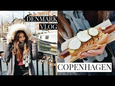 COPENHAGEN TRAVEL VLOG // VEGAN HOT DOGS ❤