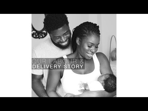ALL natural, unexpected home birth | Labour & Delivery story