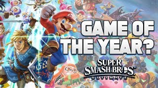 Could Super Smash Bros Ultimate be Game of the YEAR Candidate for Nintendo Switch?
