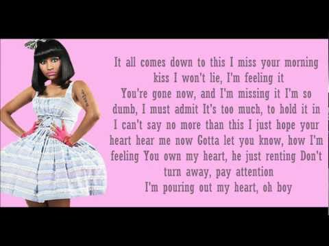Nicki Minaj ft Chris Brown- Right By My Side Lyrics