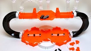 HexBug Nano V2 Battle Bridge set with 2 x 180° degree Twister Curves - Detailed hands on review