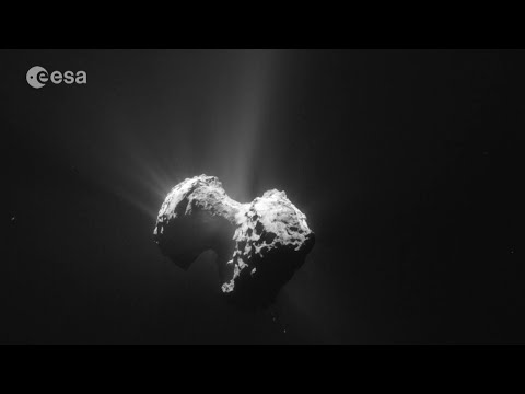 The organic comet
