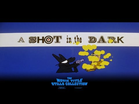 A Shot in the Dark (1964) title sequence