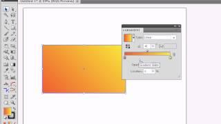 Adobe Illustrator для начинающих. Укрощаем градиент