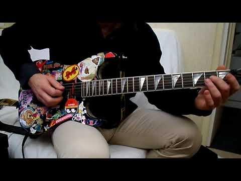 Falco - Der kommissar - How to play tuto guitare YouTube En Français