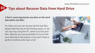 HData Recovery How to Restore a Deleted File from a Formatted Drive