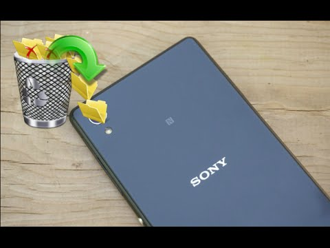 Sony Recovery - Get Lost Data Back From Sony Xperia