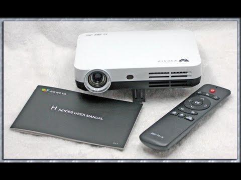 Foxcesd Mini H9 Full 1080P HD 3D Multimedia Portable DLP Video Projector Beamer