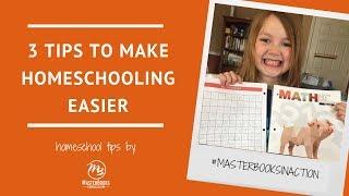 3 Tips to Make Homeschooling Easier // Master Books Homeschool Teaching Tips