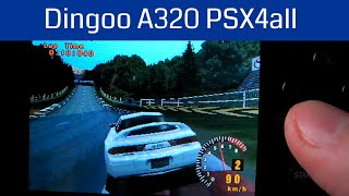 Dingoo A320 Gran Turismo PSX4all on Dingux