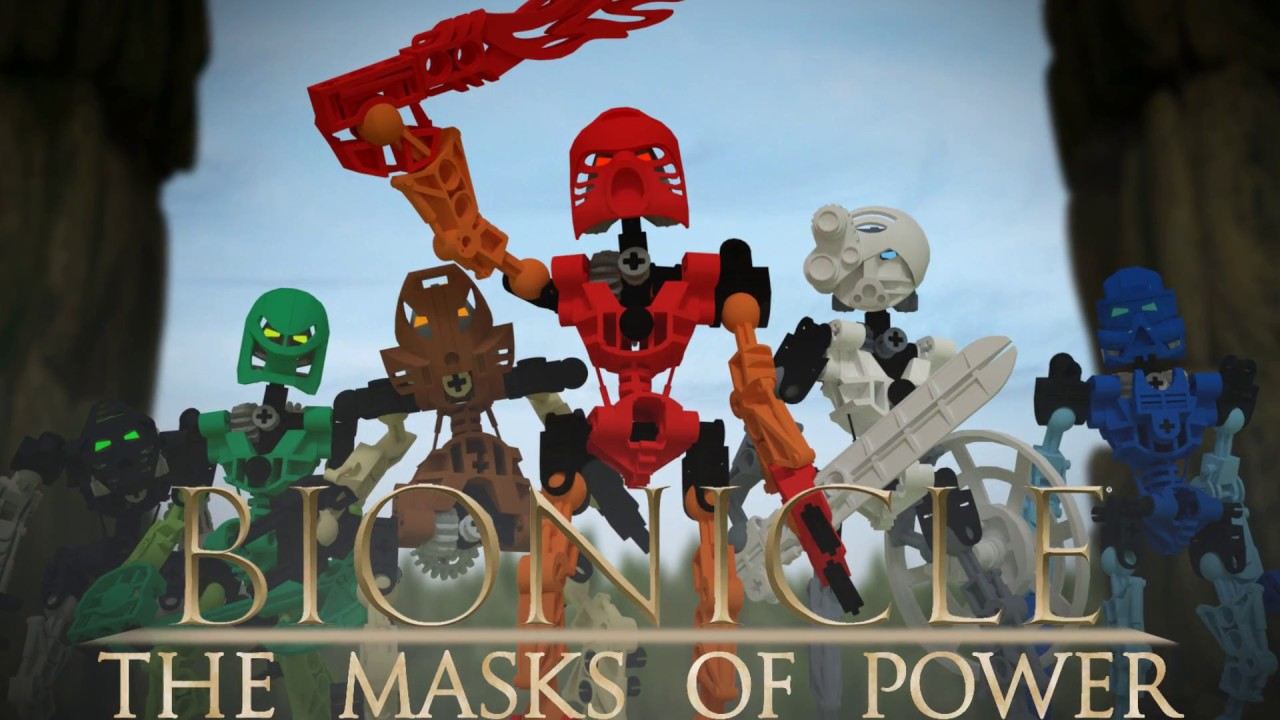 Bionicle: The Masks Of Power Teaser