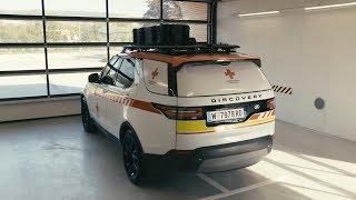 Land Rover Act as Ambulance