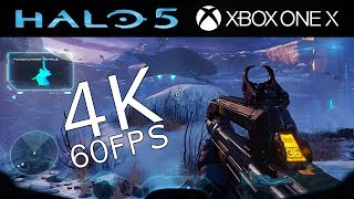 Halo 5: Guardians 4K 60FPS Campaign Gameplay on Xbox One X