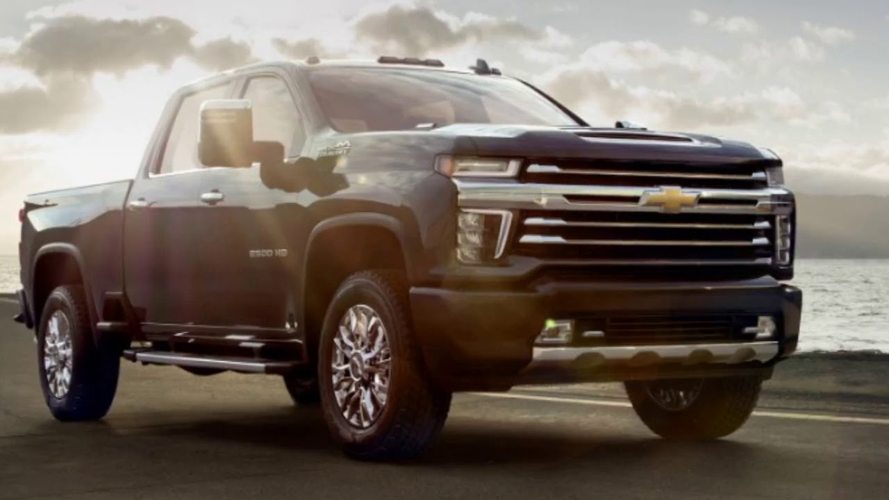 2020 Chevy Silverado 2500hd High Country Which Represents The Range Topper Of The Hd Family