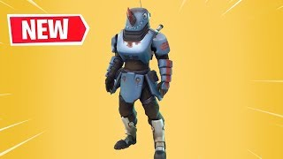 NEW SKIN SEGRETA RHINO REVEALED FORTNITE SEASON 7