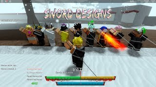 How To Get Sword Designs - Roblox Demon Slayer RPG