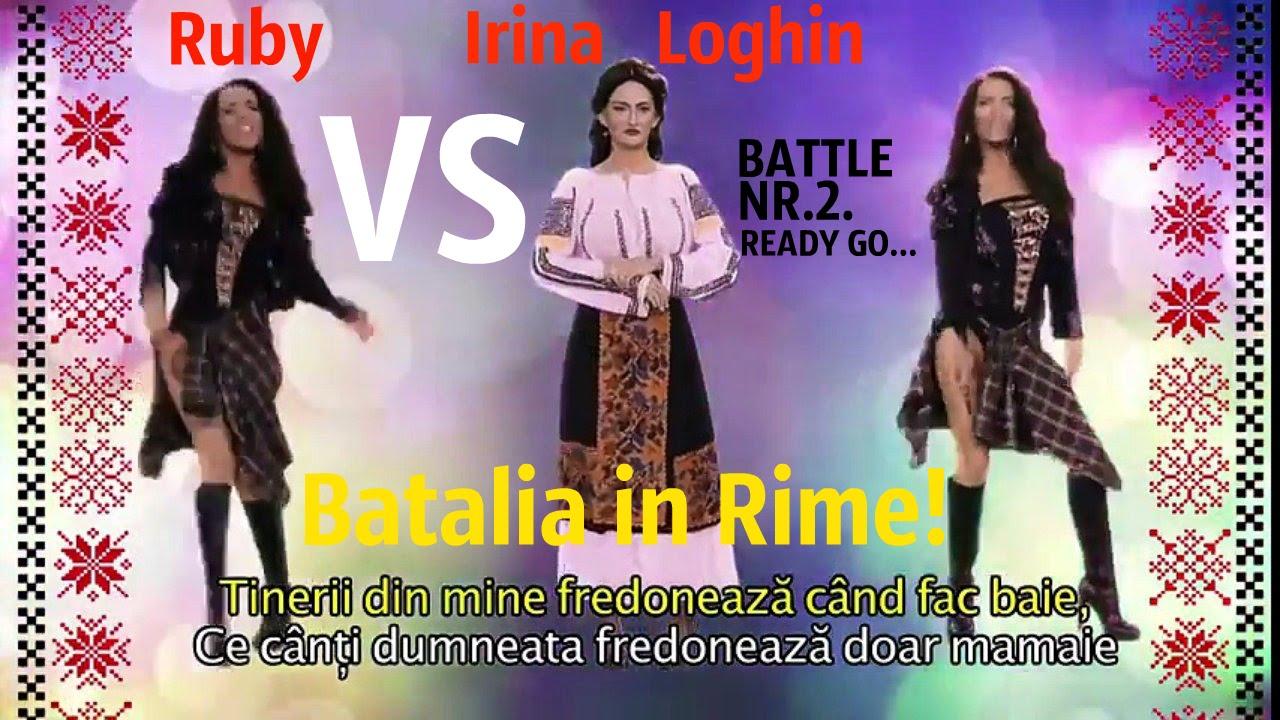 Bătălia în Rime! Ruby vs  Irina Loghin