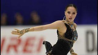 ALINA ZAGITOVA FS Nhk 2019 en rus subs ПП на Гран При в Японии с переводом комментариев