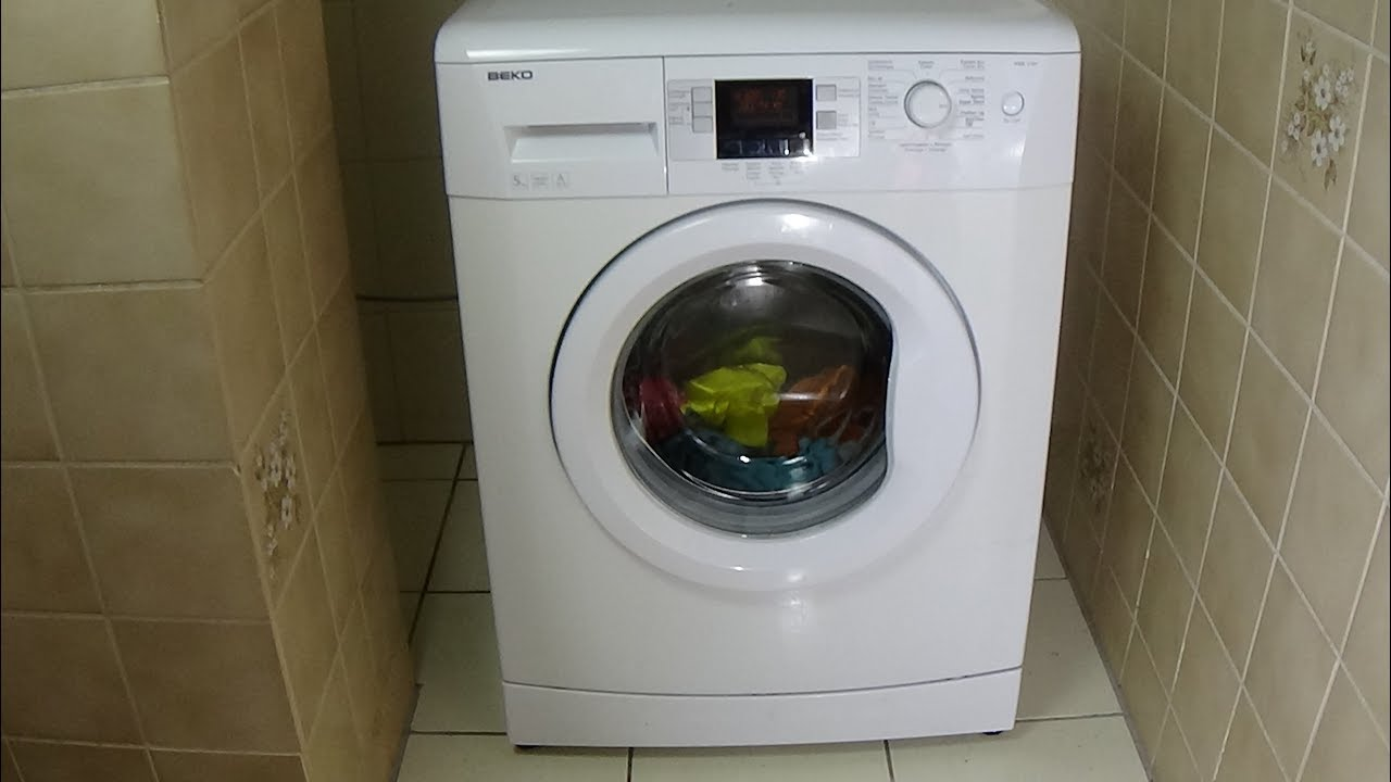 Test Waschmaschine Beko Wmb 51441 Washing Machine Waschmaschine Washer Test Example Lavadora Movie 40