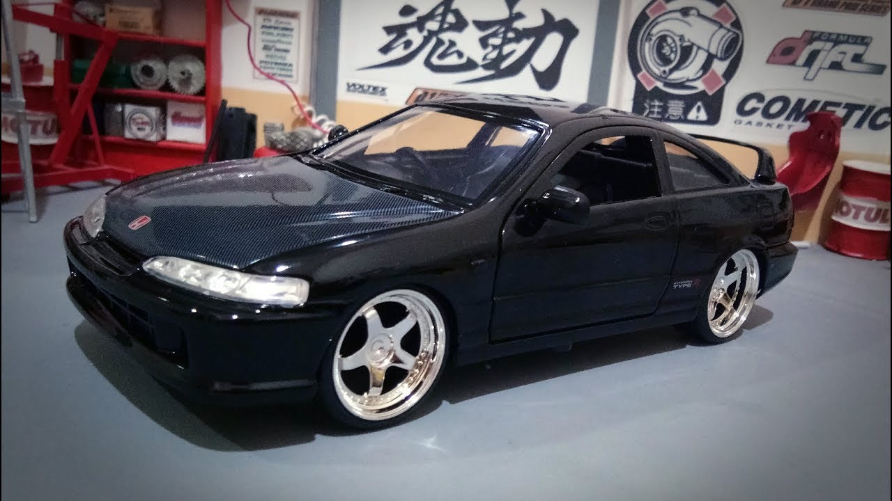 Unboxing Honda Integra 1995 Type-R (Japan Spec), JDM Tuners Jada ...