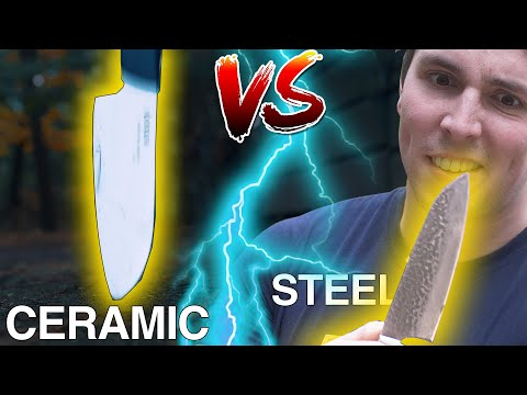 Ceramic VS Steel | The Best Knife!? MYTH BUSTED