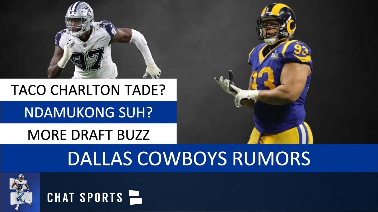 save off d0f72 a3d3d Dallas Cowboys Rumors On Ndamukong Suh, Trading Taco Charlton, NFL Draft  Rumors & Ezekiel Elliott