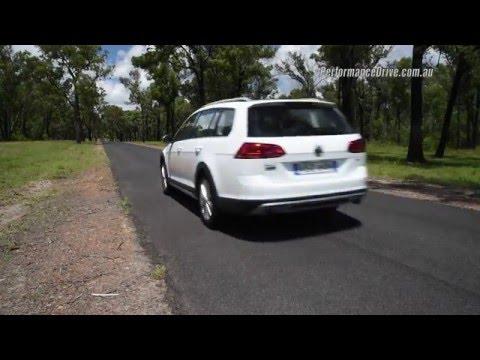 2016 Volkswagen Golf Alltrack 132TSI 0-100km/h & engine sound
