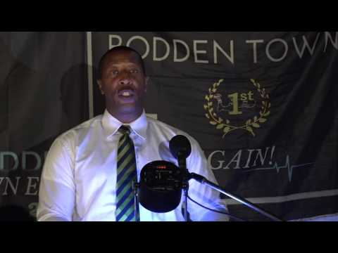 Stafford Berry - CDP Bodden Town Public Meeting