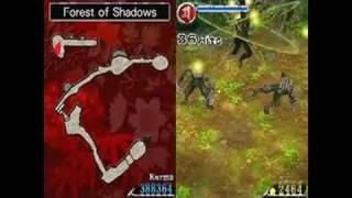 Ninja Gaiden: Dragon Sword Nintendo DS Gameplay -