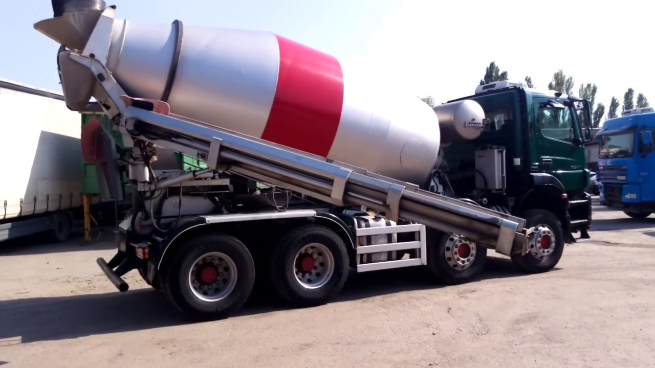 Mixer бетон укладку бетонной смеси