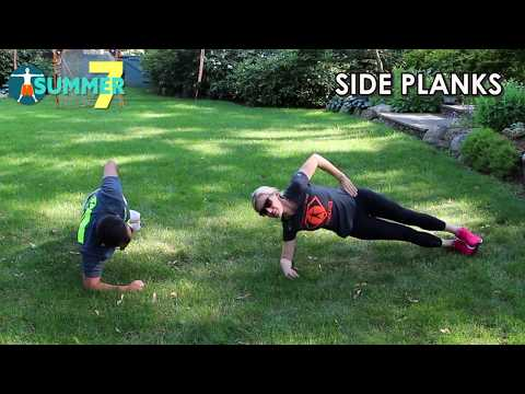 Summer of 7 - Yard Workout