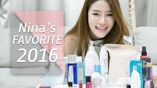 FAVORITE || Nina's Favorite 2016!!! || NinaBeautyWorld