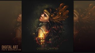 How to Create an Celestial Princess ArtWork In Photoshop