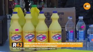 SOEME recibe donaciones para Epuyén